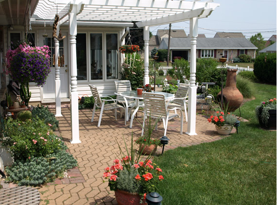 Relaxing outdoor entertaining spaces. - Landscaper In Lancaster, PA Landscape Design Lancaster